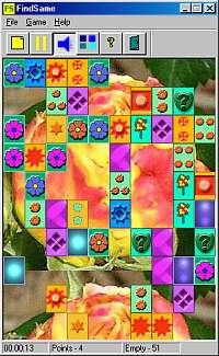 FindSame is puzzle game for Windows.